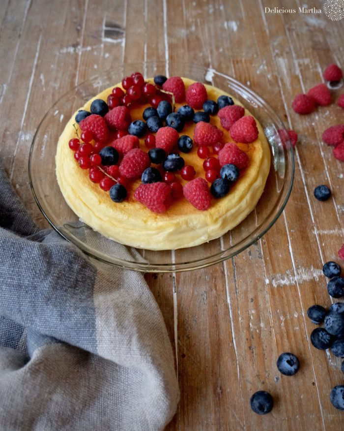 Cheesecake con tres ingredientes