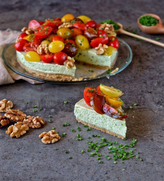 cheesecake de pesto