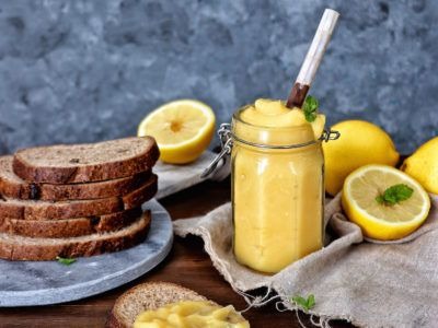 Lemon curd saludable