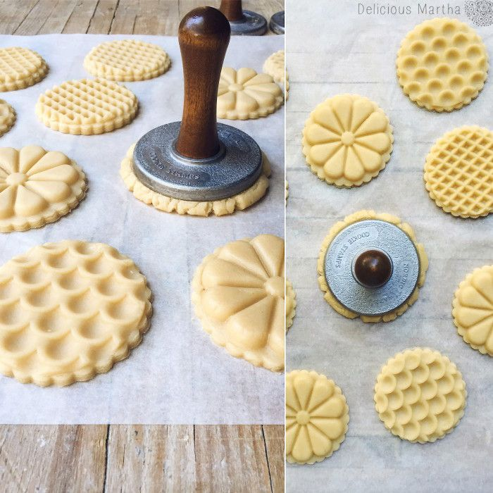 Galletas decoradas con sello