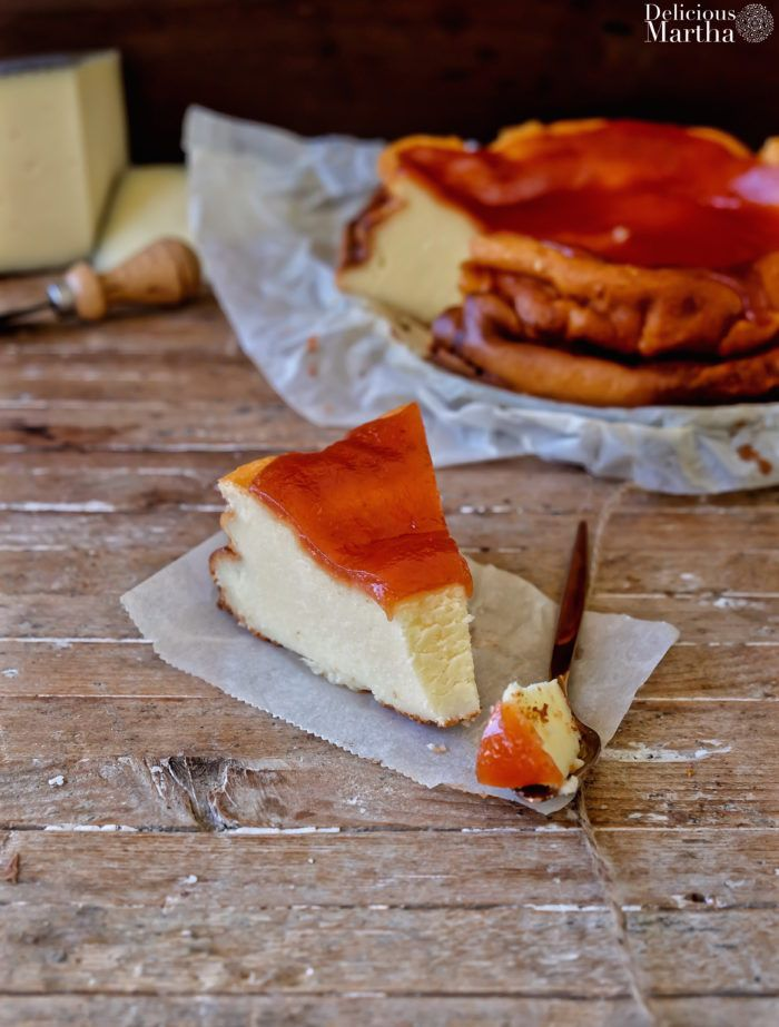 Cheesecake de queso Manchego