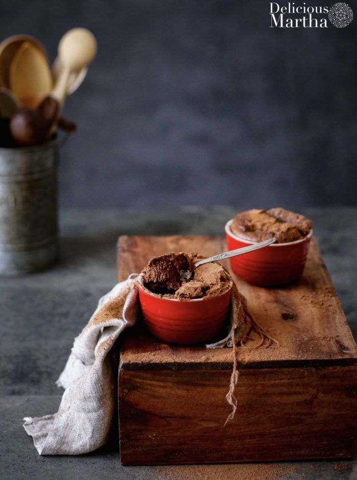 Souffle de chocolate