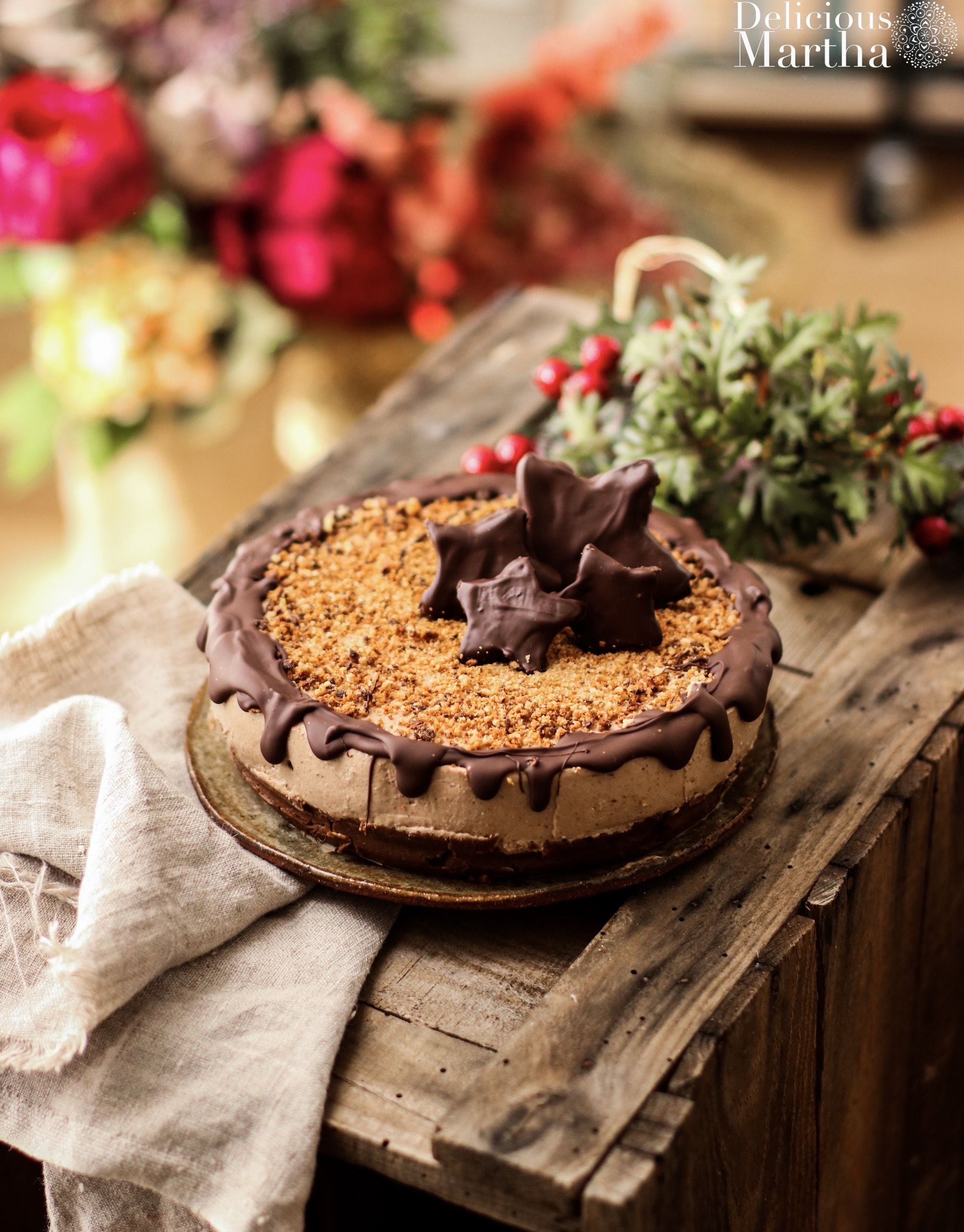 cheesecake de galletas