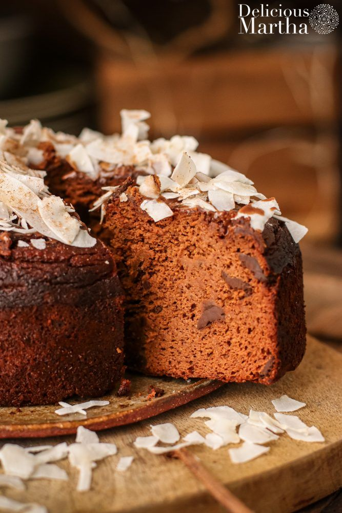 carrot cake de chocolate